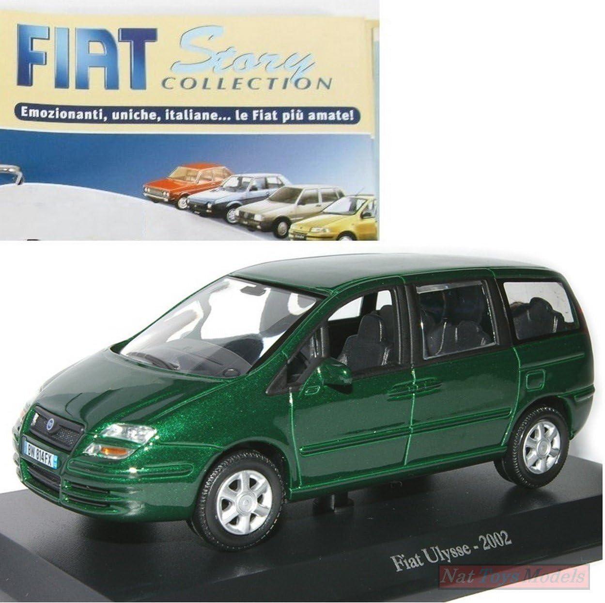 EDICOLA Fiat Ulysse 2002 MODELLINO Die Cast 1:43 Norev Model +fas ...
