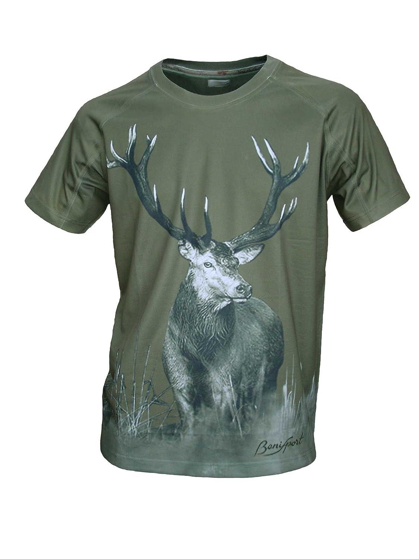Talla M Camiseta TecnicaCiervo M//Corta
