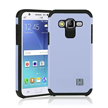 big sale 266e1 66816 32nd Slim Armour Series - Dual-Layer Shockproof Case Cover for Samsung  Galaxy J5 (2015), Slim Armour Defender Style Case - White