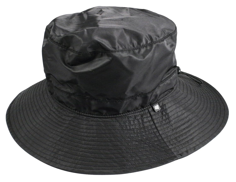 Shaped Waterproof Bucket Hat Black  Amazon.co.uk  Sports   Outdoors 022245d2f23