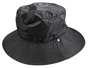 Image Unavailable. Image not available for. Colour  Shaped Waterproof  Bucket Hat Black 5c8e0357292