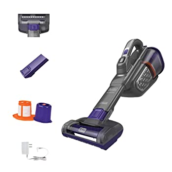 BLACK+DECKER Portable Dustbuster Handheld Cordless Vacuum Cleaner