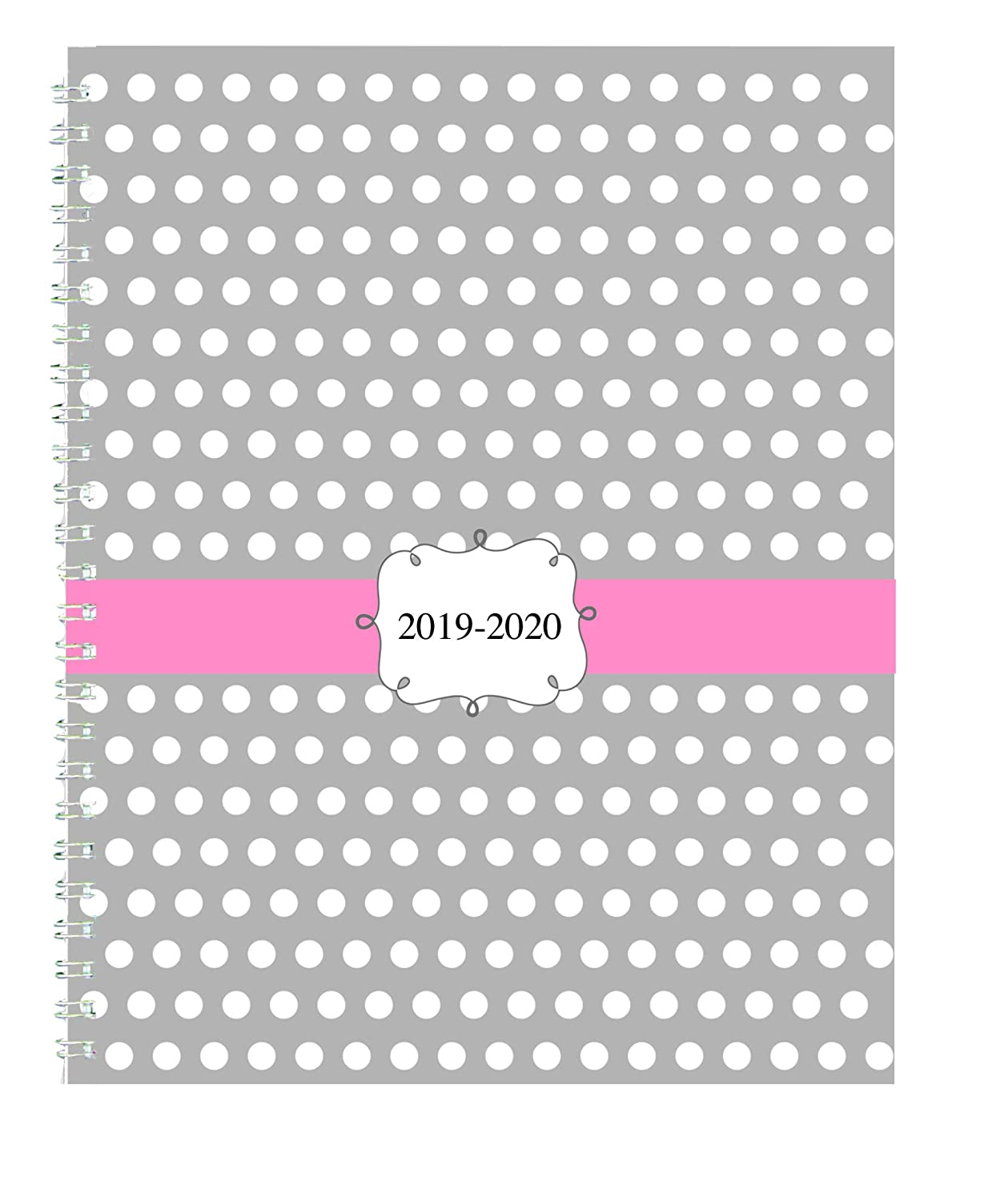 Academic Dots July August HOD29593-20 House of Doolittle 2019-2020 Weekly and Monthly Planner 7 x 9 Inches