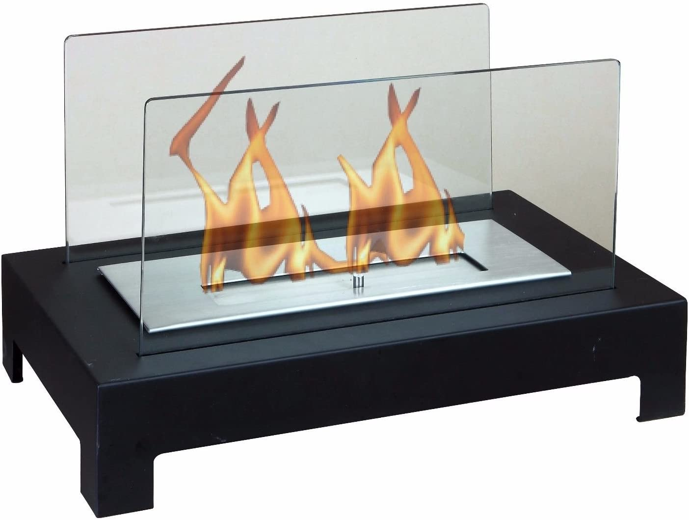 Chimenea Bioetanol diseño de mesa Apoyo Muebles Moderno Estufa ...