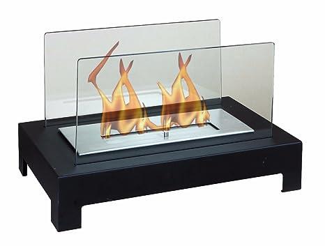 Chimenea Bioetanol diseño de mesa Apoyo Muebles Moderno Estufa Chimenea Sala Estar Casa