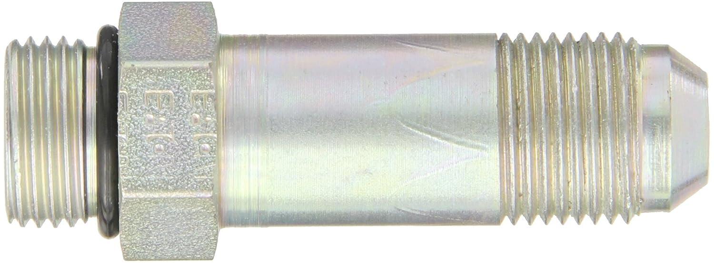 Eaton Weatherhead C5316X8 Carbon Steel SAE 37 Degree 1//2 Straight Thread O-Ring Boss x 1//2 JIC Male Flare-Twin Fitting Long Adapter JIC