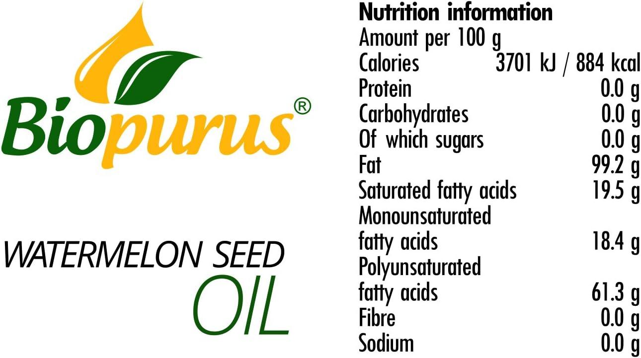 Amazon.com: Aceite de semillas de sandía certificado ...