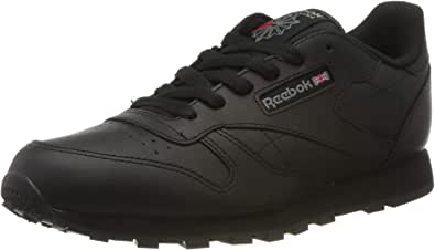 Reebok Zapatillas deportivas unisex de cuero clásico para niños
