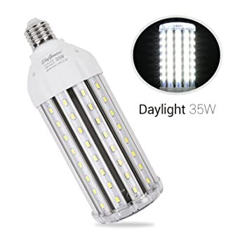 35w daylight led corn light bulb for indoor outdoor large area 35w daylight led corn light bulb for indoor outdoor large area e26 3500lm 6500k cool aloadofball Gallery
