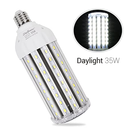 35w daylight led corn light bulb for indoor outdoor large area e26 35w daylight led corn light bulb for indoor outdoor large area e26 3500lm 6500k cool workwithnaturefo