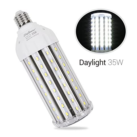 35w daylight led corn light bulb for indoor outdoor large area 35w daylight led corn light bulb for indoor outdoor large area e26 3500lm 6500k cool aloadofball Images