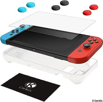 CamKix Kit de protección, Compatible con Nintendo Switch: Funda de ...