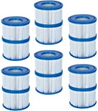 Bestway Spa Filter Pump Replacement Cartridge Type VI (12 Pack)