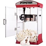Carnus Home Popcorn Machine | Features Popcorn Maker with Popcorn Scoop, Measuring Cup, Butter Spoon | 4 ounce Kettle Popper