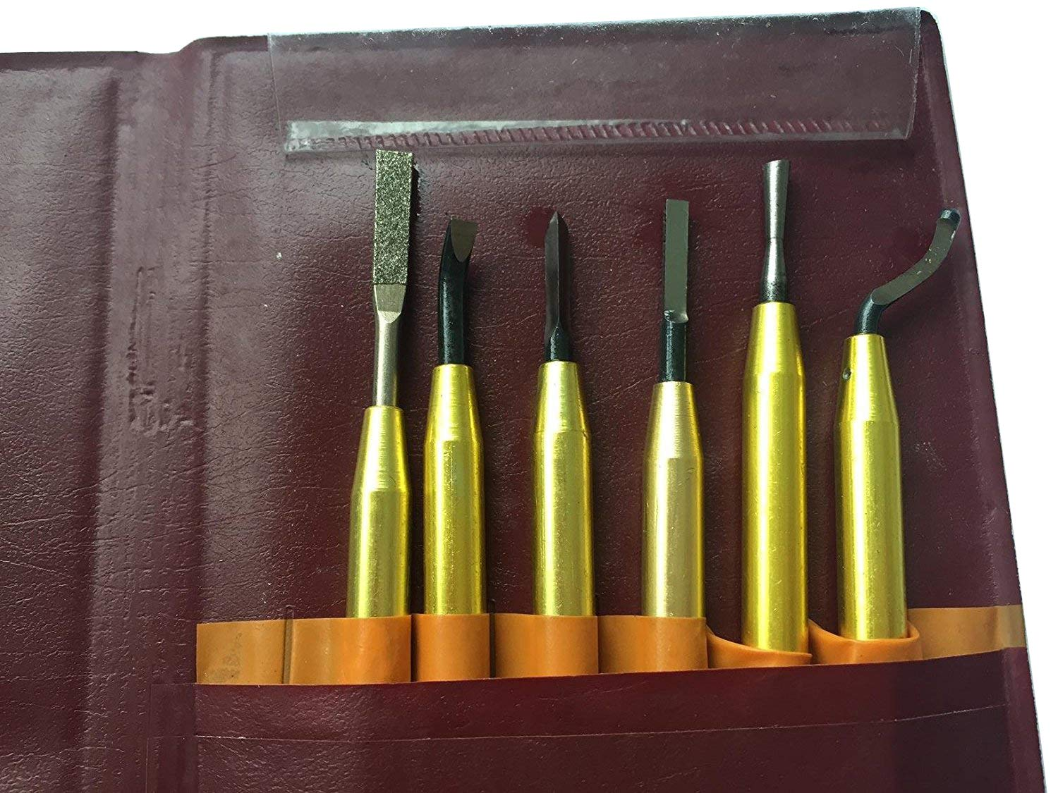 LLDSIMEX 6PCs Sets Deburring Tools Sets