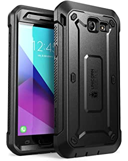 buy popular 55c9a 42097 Amazon.com: [Galaxy J7] Defender Cover [ArmorXtreme] [Black/Black ...