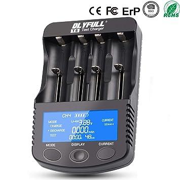 Cargador de batería, batería Cargador Universal de Carga USB ...