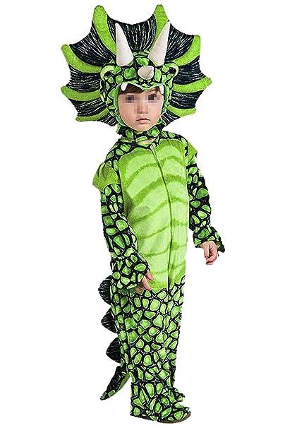 lancoszp Disfraz de Triceratops de Halloween para Ninos Disfraz de  Dinosaurio de Carnaval ee0d2a4abfa