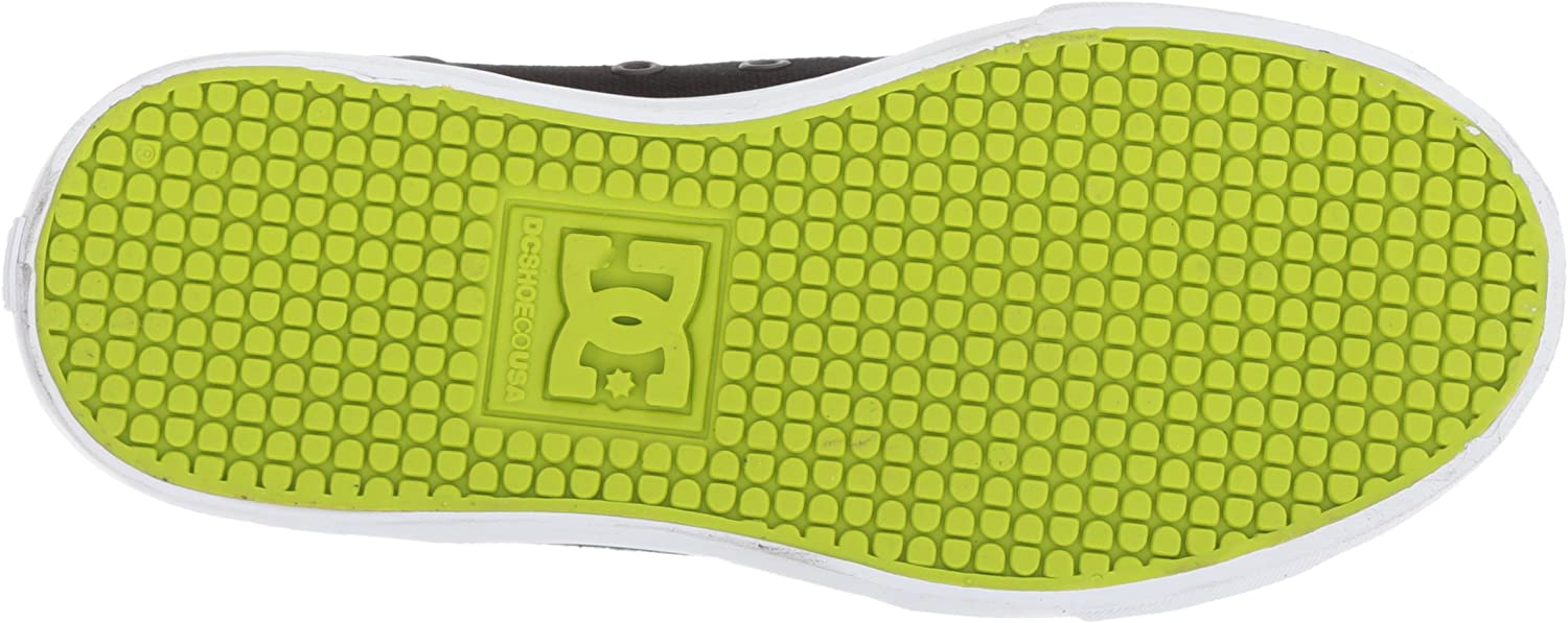 DC Kids Evan Hi Zip Skate Shoe