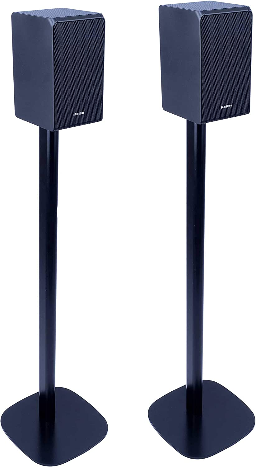 Vebos Floor Stand Samsung HW-Q10R Black Set en Optimal Experience in Every  Room - Allows You to Place Your Samsung HW-Q10R Exactly Where You Want it -