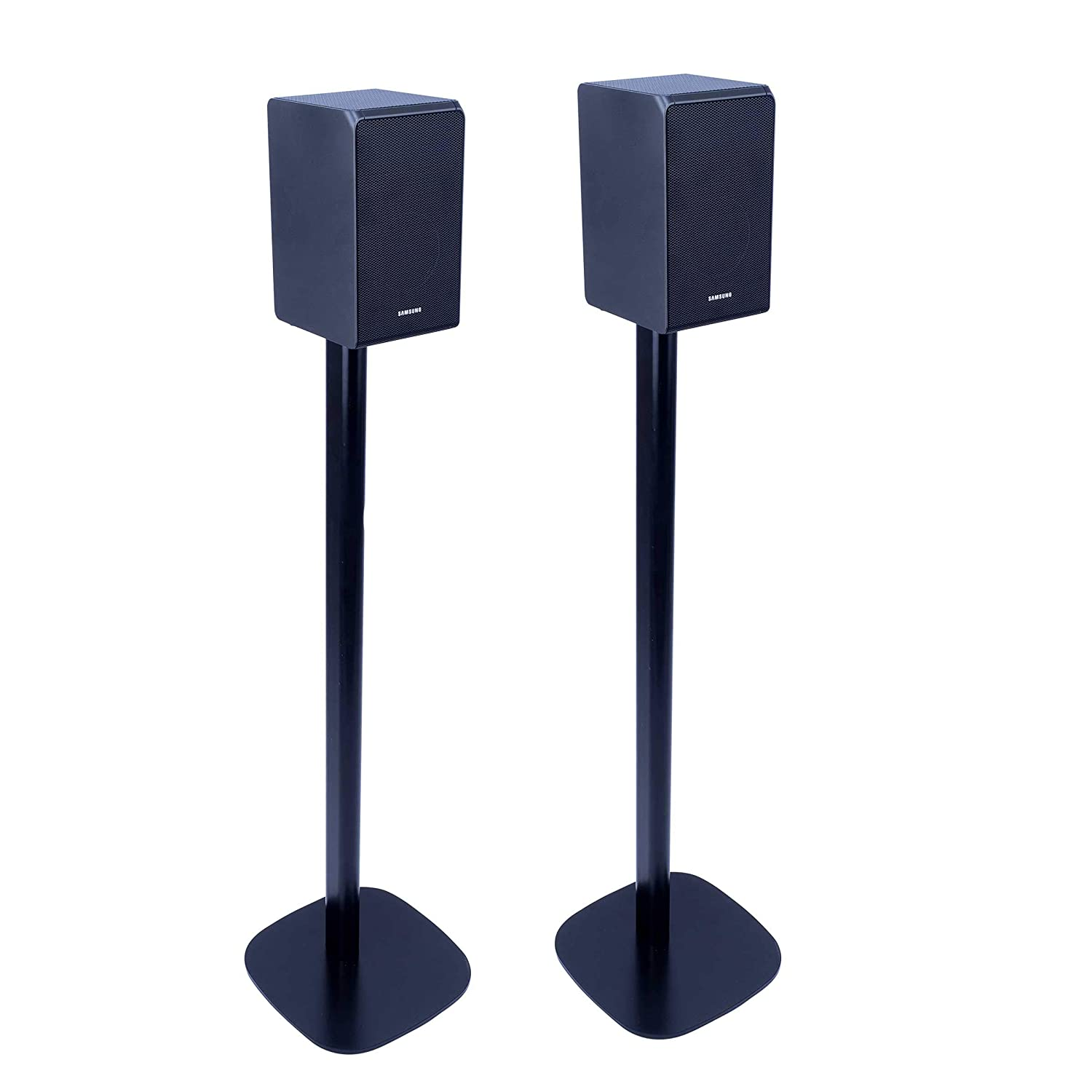 Allows You to Place Your Samsung HW-Q90R Exactly Where You Want it Vebos Floor Stand Samsung HW-Q90R Black Set en Optimal Experience in Every Room Compatible with Samsung HW-Q90R