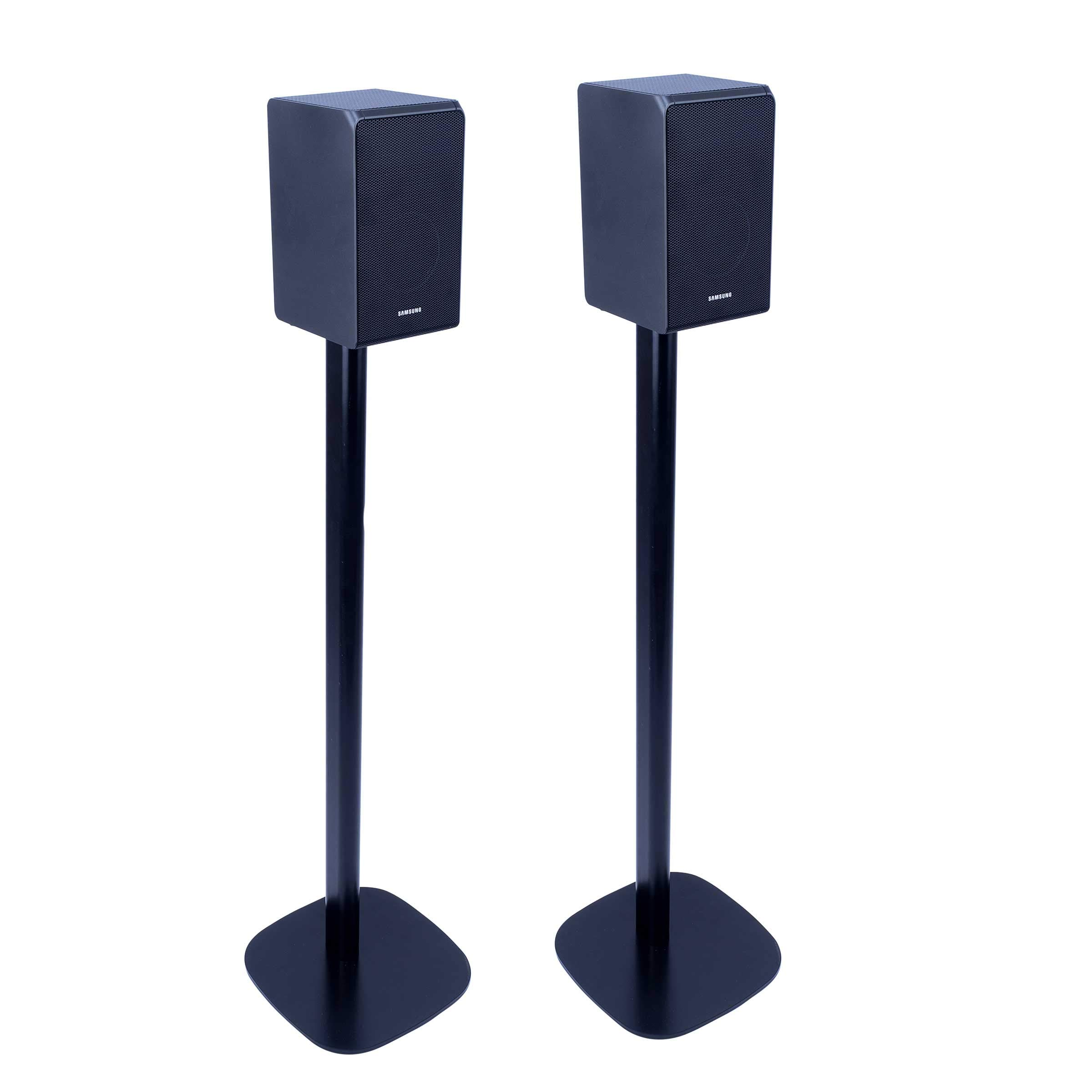 Vebos Floor Stand HW-Q950T Black Set - Compatible with Samsung HW-Q90R, Samsung HW-N950 and Samsung HW-K950