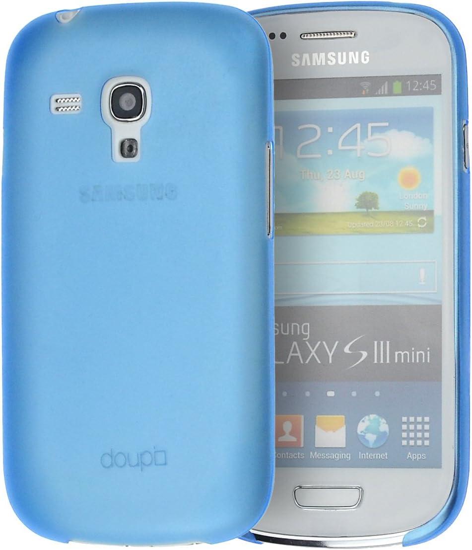 doupi UltraSlim Funda para Samsung Galaxy S3 Mini, Finamente Estera Ligero Estuche Protección, Azul: Amazon.es: Electrónica