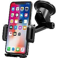Handyhalter fürs Auto,Mpow Upgrade KFZ Smartphone Halterung,Armaturenbrett/Windschutzscheibe Universal autohandyhalter,2 in 1 HandyHalterung Auto für iPhone11/XS/XS Max/XR/X,Galaxy S10/S9/S8/S7 & GPS
