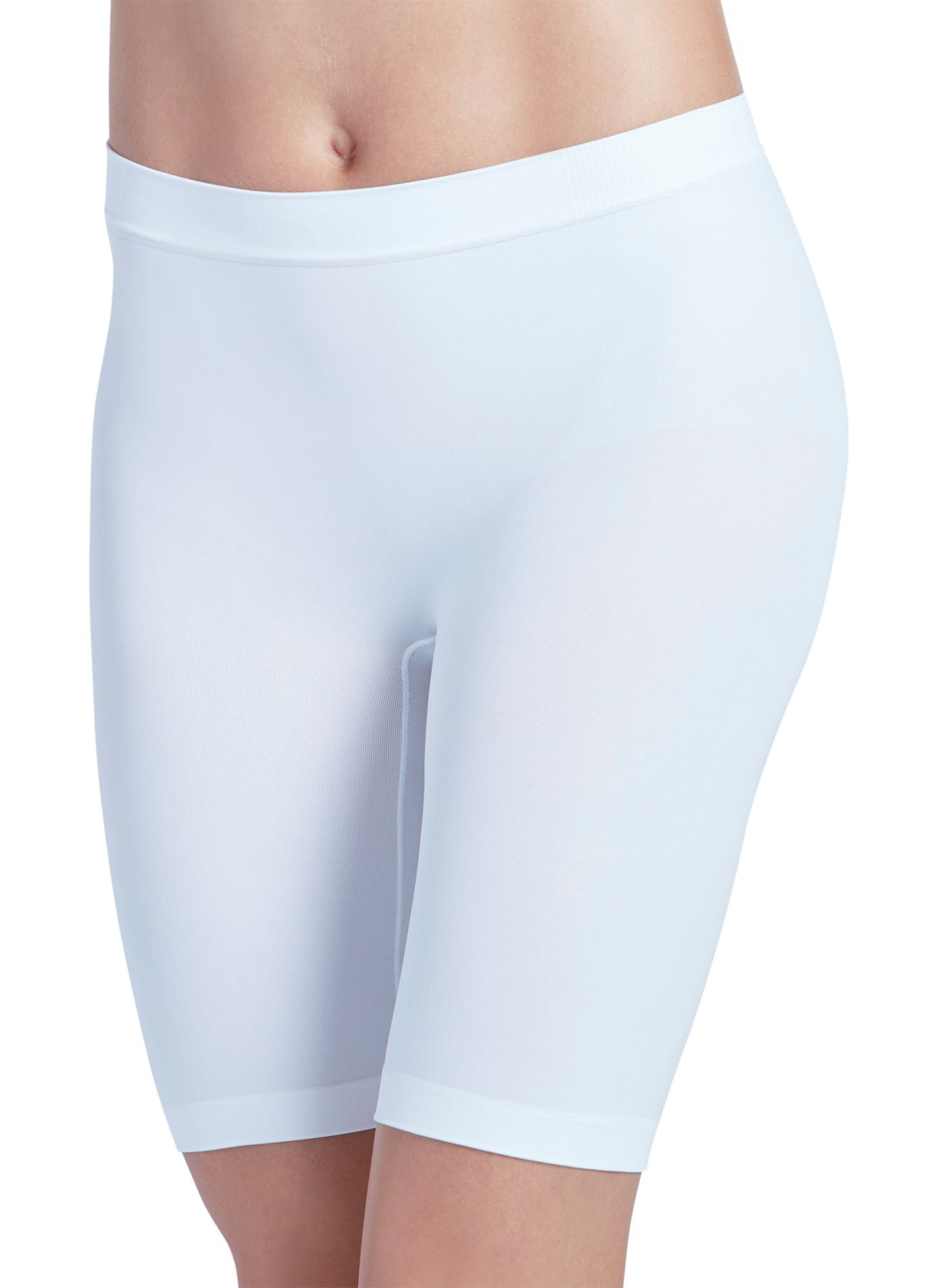 Jockey Women's Underwear Skimmies Slipshort, white, 2XL
