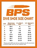 BPS 3mm Neoprene Water Boots - Dive Boots with