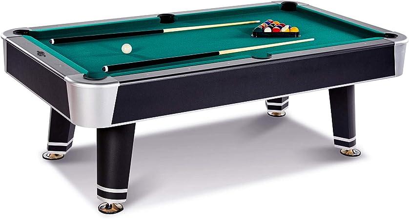 Lancaster Mesa de Billar Arcade de 228 cm con Parachoques K-66 y Bolas Incluidas: Amazon.es: Deportes y aire libre