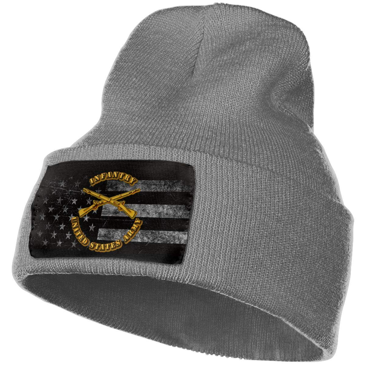 US Army Infantry Mens Beanie Cap Skull Cap Winter Warm Knitting Hats.