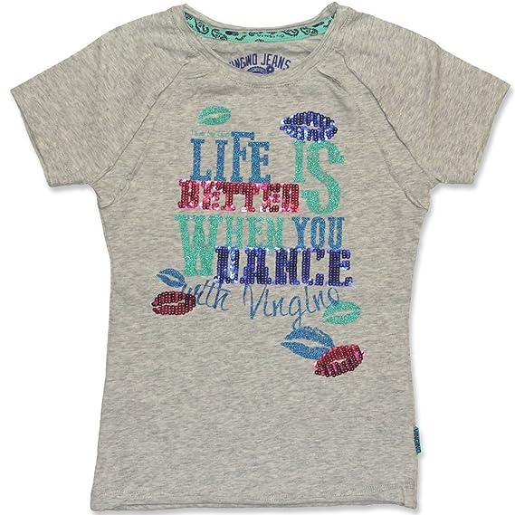 ddd3f509b8112 Couleur gris vINGINO t-shirt kerzi mele t-shirt pour fille  Amazon.fr   Vêtements et accessoires