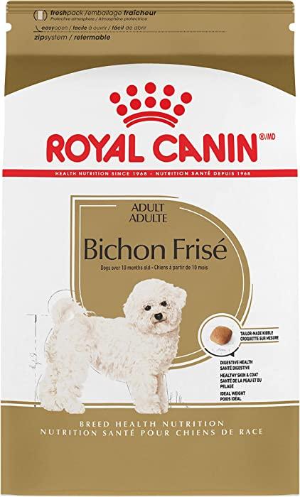 Royal Canin Bichon Frise Adult Breed Specific Dry Dog Food, 3 lb. bag