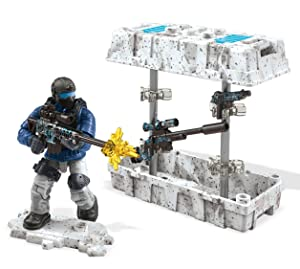 Mega Construx Call Of Duty Care Package Blue Building Set