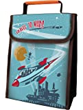 Coelacanth R-2211 Insulated Lunch Sack, Travel To Mars, Mixed