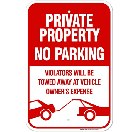 No Parking Patient Pick-Up Only Protect Your Business /& Municipality 12 X 18 Heavy-Gauge Aluminum Rust Proof Parking Sign Made in The USA