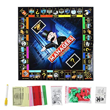 Tnfeeon Monopoly Divertido Juego clásico, Liar Version Juego de ...