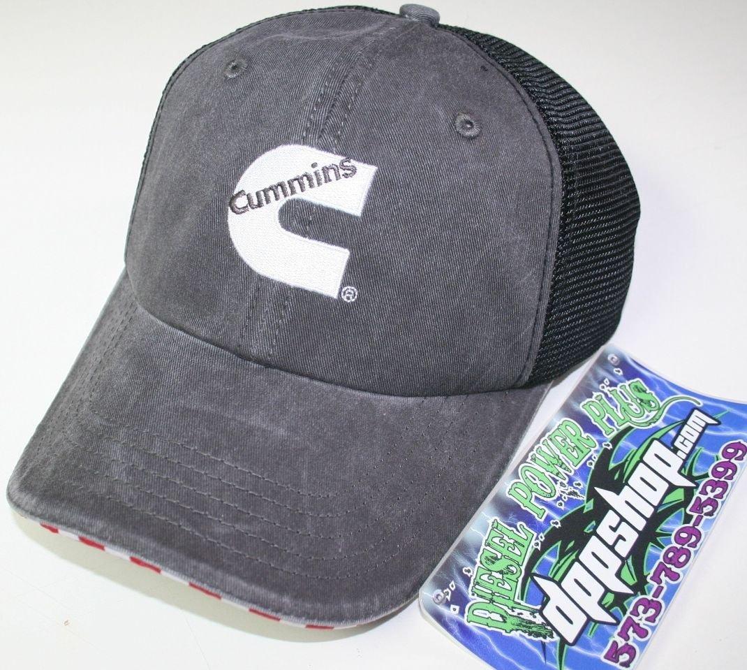 cummins dodge summer mesh ball cap hat baseball truck cumming trucker engine red