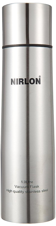 Nirlon Stainless Steel Flask, 1 Litre, Silver