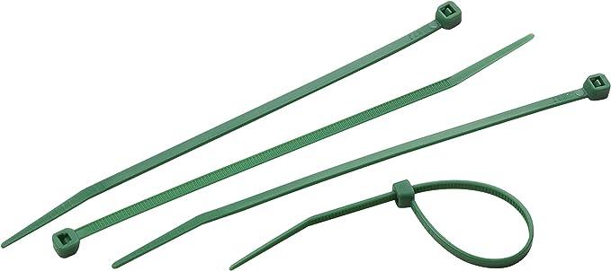Meister Kabelbinder Praktisches Set 50 Stück Grün 150 X 3 6 Mm Stabiles Nylon Uv Beständig Langlebig Robust Kabelbinder Set Für Bündelgut Kabelverbinder 7452150 Baumarkt