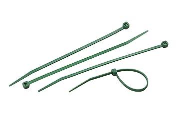 Meister Kabelbinder 300 x 4,8 mm, grün, 25 Stück, 7452310: Amazon.de ...