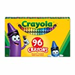 Crayola 96 Crayons, School and Craft Supplies, Gift for Boys and Girls, Kids, Ages 3,4, 5, 6 and Up, Holiday Toys...