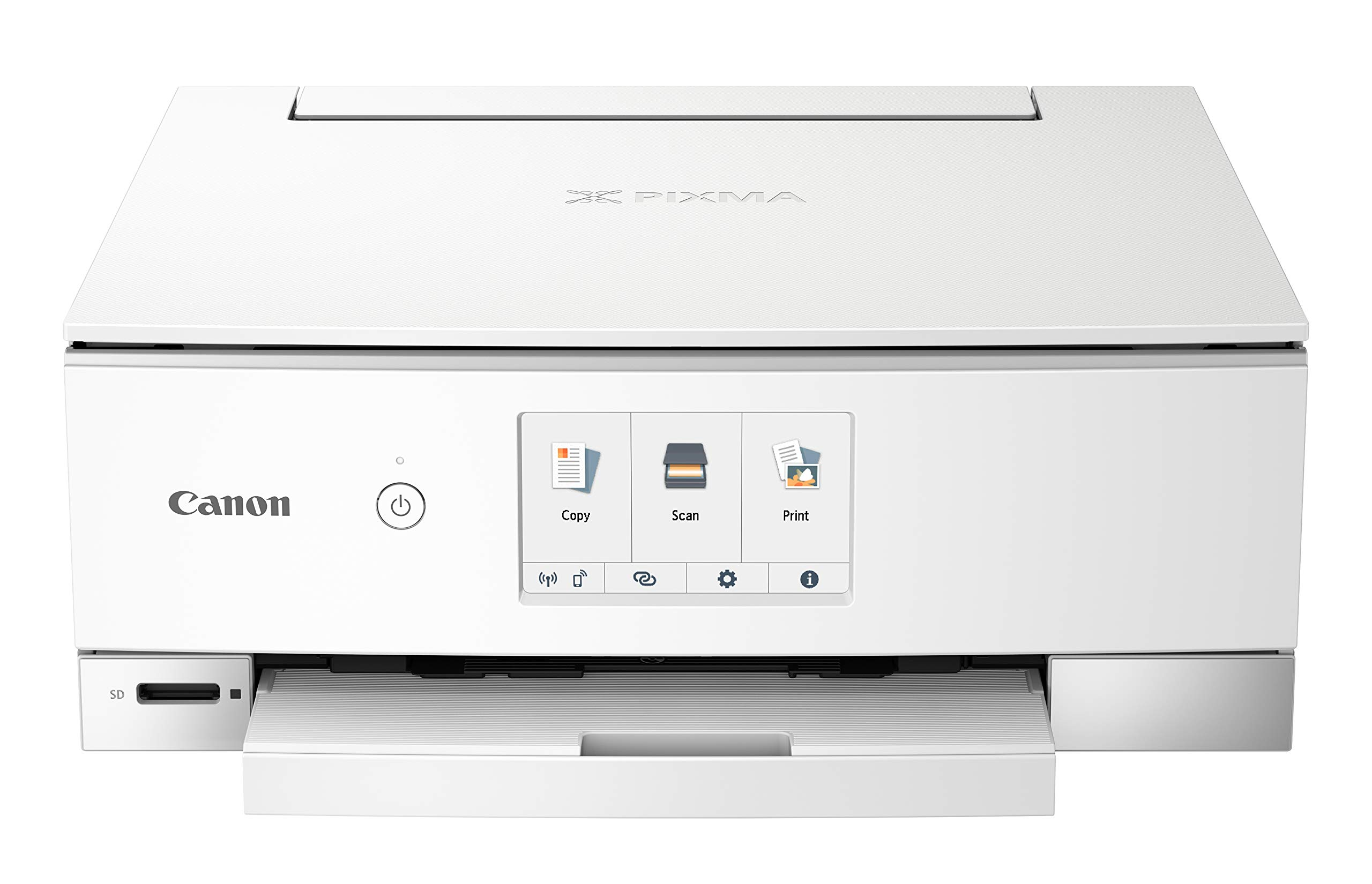 Canon TS8220 Wireless All in One Photo Printer with Scannier and Copier, Mobile Printing, White by Canon (Image #3)
