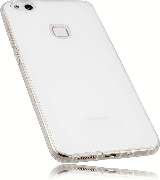 mumbi Funda compatible con Huawei P10 Lite, blanco claro: Amazon ...