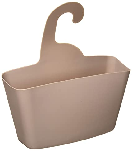 Amazon.com: EVIDECO 6773165 Wall Shower Caddy Plastic Basket with ...