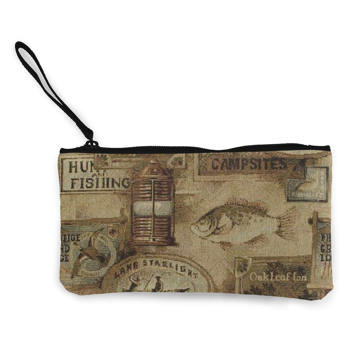 Make Up Bag Cellphone Bag With Handle DH14hjsdDEE Sunshine Zipper Canvas Coin Purse Wallet