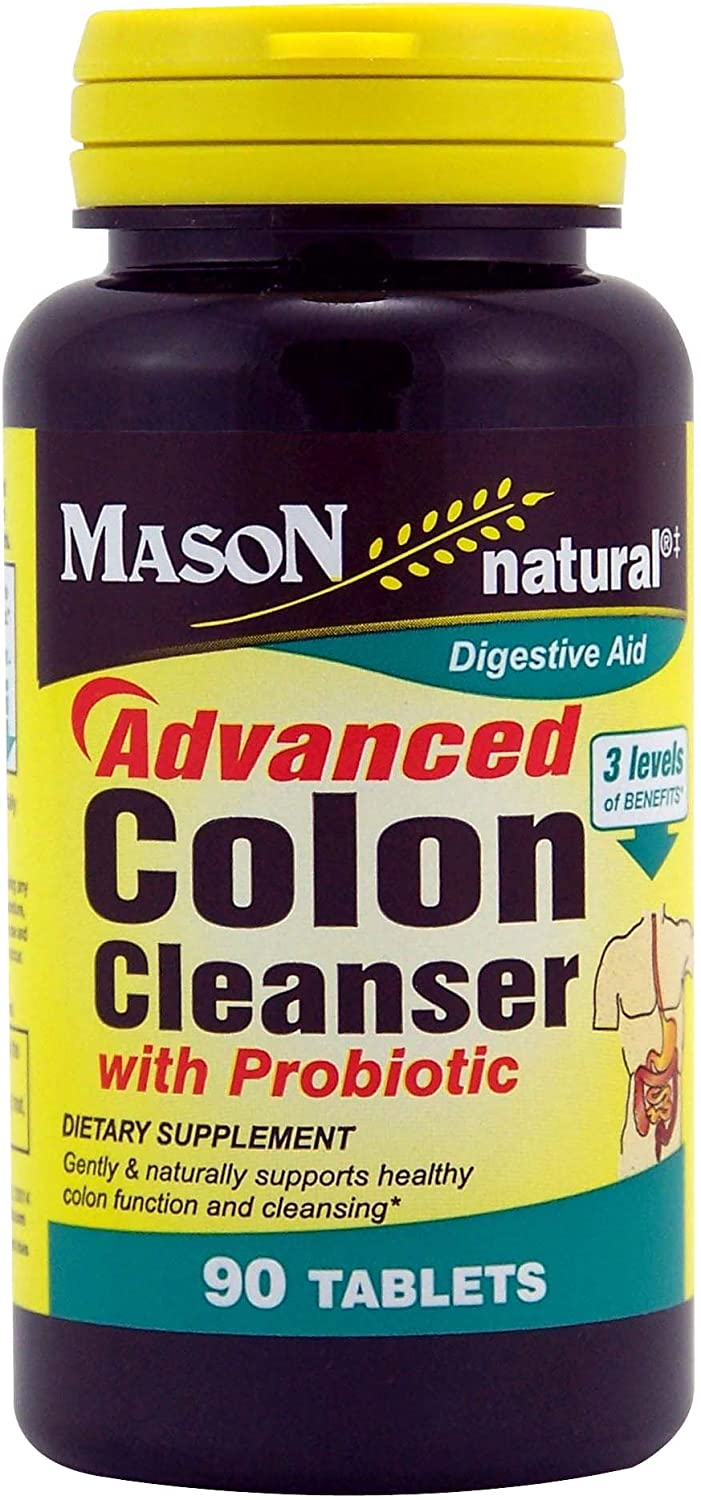 MASON NATURAL, Advanced Colon Cleanser with PROBIOTIC