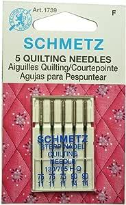 Schmetz Aguja de coser para máquina de coser: Amazon.es: Hogar