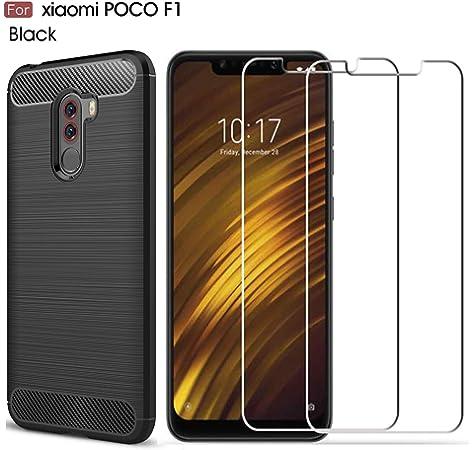 Amazon.com: Xiaomi Pocophone F1 Case, Shockproof Brushed ...